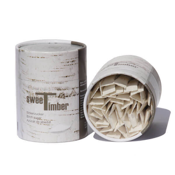 Xylitol Birch Sugar 50 Sticks Eco Can SweeTimber® 1
